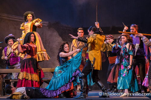 Knoxville Opera's production of Bizet's 'Carmen'