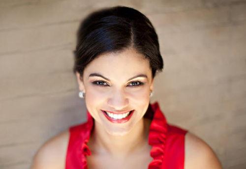 Soprano Zuilimar Lopez-Hernandez, Micaela in Knoxville Opera's 'Carmen'