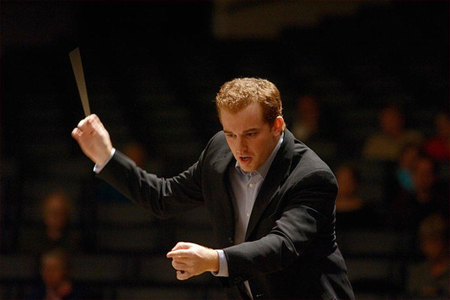 Conductor Steven Jarvi