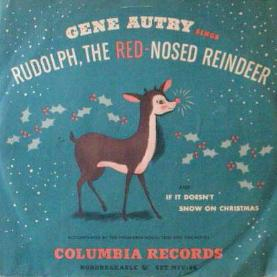 single_gene_autry-rudolph_the_red-nosed_reindeer_cover