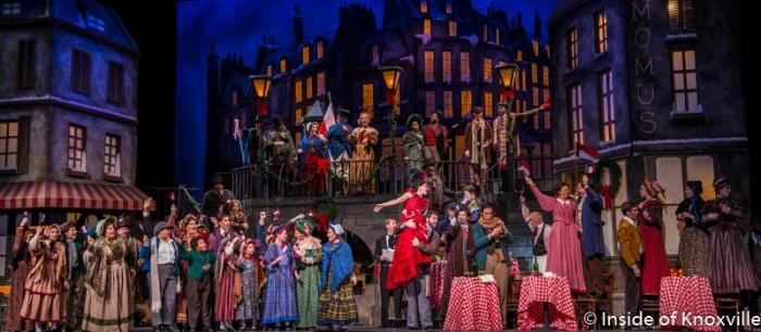 Knoxville Opera, La Boheme, Tennessee Theatre, February 2017